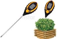 4 in 1 Garden Plant Soil Survey Instrument Sunlight/Moisture/Light/PH Tester Mete environment sunlight intensity probe TK0352