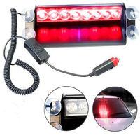 Details about 8LED Car Deck Truck Dash Strobe Flash Warning Light Emergency 12V Red