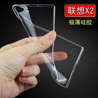 Lenovo Vibe X2 Case Ultra Slim Fit 0.5mm with Flexible Transparent TPU Skin 2014 new style wholesale price