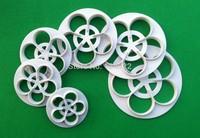 Wholesale 10 Sets(6 Pcs/Set) Beautiful Gum Paste Flowers Cake Decorating Cutter Fondant Mold Sugar Tools