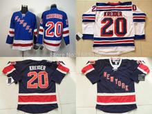 New York Rangers jersey Kreider Hockey Jerseys Cheap #20 Chris Kreider Jersey NY Rangers White Navy Blue Stitched Jerseys