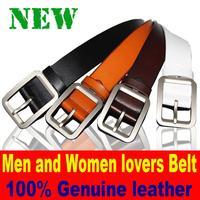 2015 New Lovers style belt 100%Genuine Leather Belt for women designer belts men high quality Fashion Belts for men