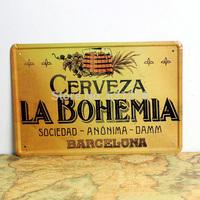 CERVEZA LA BOHEMIA vintage Tin Signs House Cafe Restaurant  Beer Poster Painting  Mix order item 20*30cm 7.87*11.81 inch