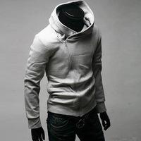 2015 Sale Mens Hoodies And Sweatshirts tracksuits Sudaderas Hombre Chandal Hombre Popular Diagonal Zipper Jacket Men Stayed