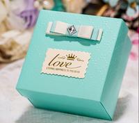 100PCS/Se Christian candy box,wedding favor box ,laser cut candy box,chocolate box.gift box