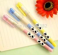 Cute panda gel pens, 0.38mm black refill pen, Office supply (SS-a312)
