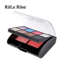 Big eyes attractive eye makeup eye shadow box blush cheek Diamond Eyeshadow Kit Free Shipping