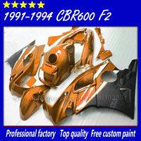 High quality fullset fairing kits for Honda 91 92 93 94 CBR 600F2 CBR600 F2 1992 1993 1991 1994 CBR600F2 aftermarket fairngs kit