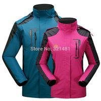 2015 Brand Spring Autumn waterproof windproof Outdoor Jackets & Coats Men Sportswear for Camping & Hiking men's Sport Coat L-5XL