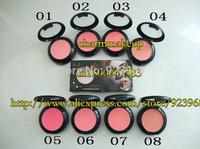 2015 New Arrival Professional Face Care Mc Makeup Blusher Powder Blush 8 differ colors 9g( 8 pcs/lots)8pcs