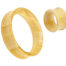 wood Baboom flesh ear tunnel stretcher plugs piercing expander gauge body jewelry sale in pair 8-20mm