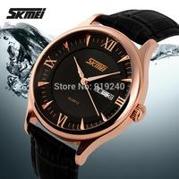 Free shipping 2015 fashion casual Men Personality watch Waterproof Quartz Business Wristwatches 3 colors --nbj