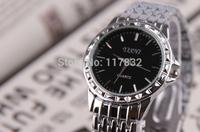 2015 mens analog watch man stainless steel  brand  wristwatch male business style quartz brand watches mans relogio
