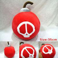Free Shipping LOL 35cm New Plush Ziggs Bomb Toy dolls Pillow gift for children