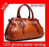 2015 fashionable casual Red Brown shoulder bags l fashion patchwork designer high quality ladies office messenger shoulder bags