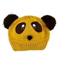 Lovely Animal Panda Baby Hats And Caps Kids Boy Girl Crochet Beanie Hats Winter Cap For Children To Keep Warm b14 8189