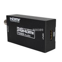 MINI 3G HDMI to SDI Converter 480i/576i to SD-SDI 720p/1080i to to HD-SDI 1080p to 3G-SDI BNC Video Adapter Free Shipping