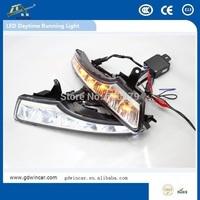 New Arrive 12V Flexible LED DRL LED Daytime Running Light  for  Nissan New Teana (2013-2015)