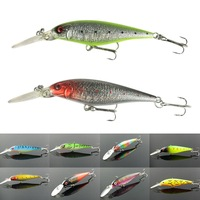 Practical Lot 10pcs New 11cm 10g Minnow Crank Baits Fishing Baits Deep Diving for good reputation