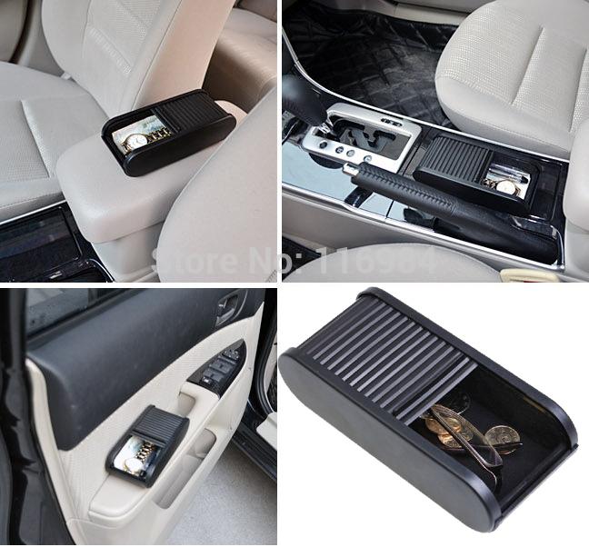 1PC Car Rolls Plastic Pocket Telescopic Dash Coins Case Storage Box Holder Container(China (Mainland))
