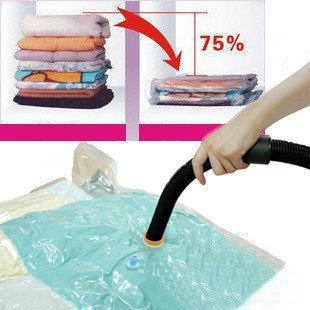 Best Seller Price! 1 Piece Hot Sale Large Space Saver Saving Storage Bag Vacuum Seal Compressed Organizer(China (Mainland))