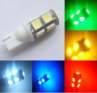 Wholesale 100pcs/lot white T10 194 168 192 W5W 5050smd 9smd super bright Auto led car led lighting wedge lamp1