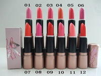 6 pcs/lot Free Shipping New Makeup RIRI Lipstick 3g,12 Colors