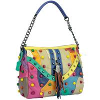 2015 New design women's genuine leather handbag brand designer female shoulder bag casual handbags party bag