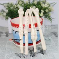 50pcs/lot Creative bones novelty ballpoint pens lovely bones ball pen korean stationery