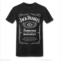 2015 Mens t shirts fashion 2014 jack daniels t shirt men casual cotton short sleeve O-neck t shirts camisetas masculinas tshirt
