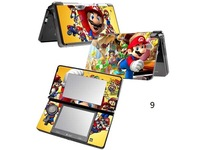new racing New super mario bros vinyl DECAL Skin Sticker case Cover for Nintendo 3DS Skin Sticker many colours can choose