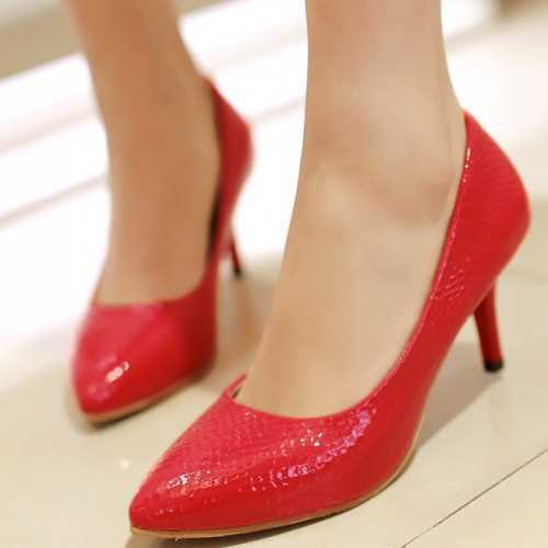 Europe and America Style Women's Fashion Tide Pointed Pumps Elegant Lady Shoes With Less Platform Office Lady Working Shoes(China (Mainland))