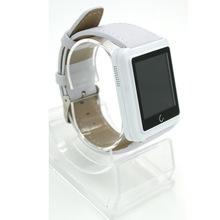 On wrist U10 U10L Bluetooth women men pedometer altimetro Smart Watches technos for Android iOS phones