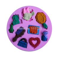 Cartoon Soft Silicone Cake Mold Fondant Decorating cartoon Shape Soap chocolate fondant silicone