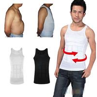 Men's sexy Slimming Tummy Body Shaper Belly Fatty thermal Underwear men sport Vest Shirt Corset
