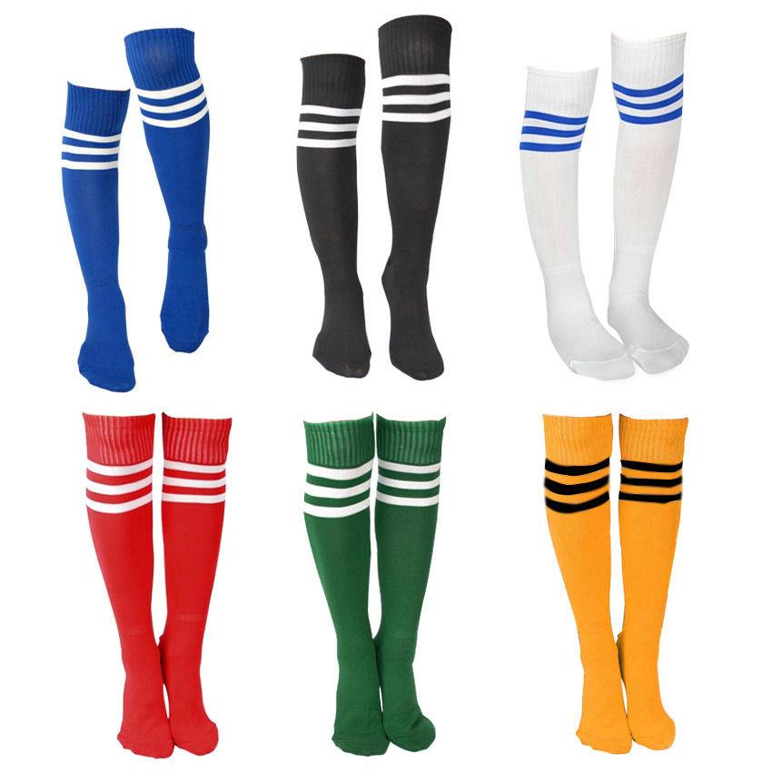 Ladies Mens Top 3 Stripe Socks Referee Socks Football Socker Baseball Stockings(China (Mainland))