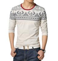 Man Sport T shirts Tights Plus S-3,4,5XL Men O-Neck Slim Fit Summer Tshirt t-shirt Men pullover Tee Shirt For Men flower