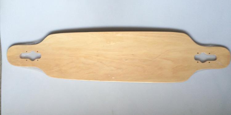 """Blank Skateboard Decks Warning Skateboard Longboards Deck (Natural) 42"""" X 9.4""""(China (Mainland))"""