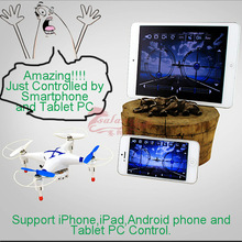 2015 Newest Android Tablet PC Control Quadcopter by WiFi Airplane Control Airplane Model Original CX30W wifi Drone RC Quadcopter