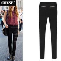 New 2014  Winter  Simple Soild Slim Size Women Leggings European Style  Free Shipping L3122