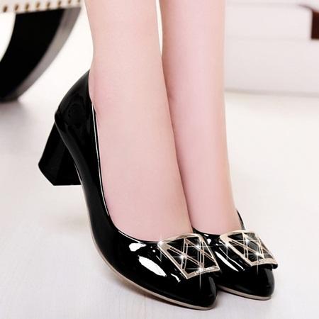 2015 spring summer women fashion pumps high heels fashion black blue beige pink shoes women high heeled pumps ladies dress shoes(China (Mainland))