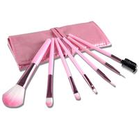 7 Pcs/ Set Professional Cosmetic Make up Brush Tool Brushes Set Foundation Blusher Kabuki Super with Bag