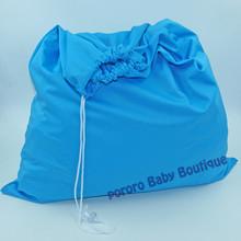 Nouvelle venue 1 pc livraison gratuite couleur unie une poche wet dry sac à couches, Étanche seau revêtement 50 cm * 60 cm 8 couleurs pour votre choix(China (Mainland))