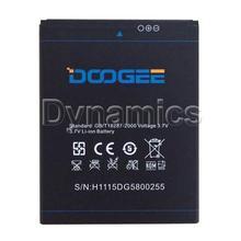 Original 2500mAh Rechargeable Battery for DOOGEE DG580 smartphone