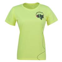 IKAI Brand Designer Women Tee Shirt Summer Casual Exercise Short Sleeves Tops Women's Quick Dry Sweat-absorbent Tees HWD0009-2