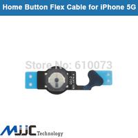 MJJC Home Button Flex Cable for iPhone 5 5G Original Flex Ribbon Cable Replacement Parts10PCS/Lot