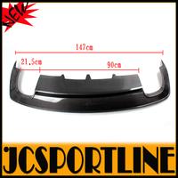 2013 A4 B9 Carbon Fiber Auto Car Rear Bumper Diffuser Lip Spoiler for Audi(Fits A4 B9 sline package sport bumper only  )