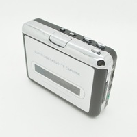 Wholesale 20pcs/lot Portable USB Cassette Capture Tape to PC Super USB Cassette to MP3 Converter Cassette-to-MP3 Capture
