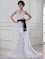 2015 Custom Vestidos De Noiva Vintage Floor Length Halter Lace Mermaid Wedding Dresses Bride Dress Bridal Gowns