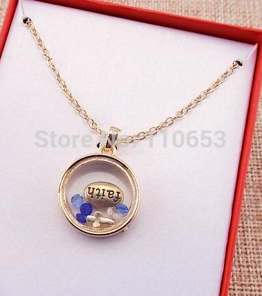 2015 newest design fashion valentine day gift unique letter stone glass box pendant necklace(China (Mainland))